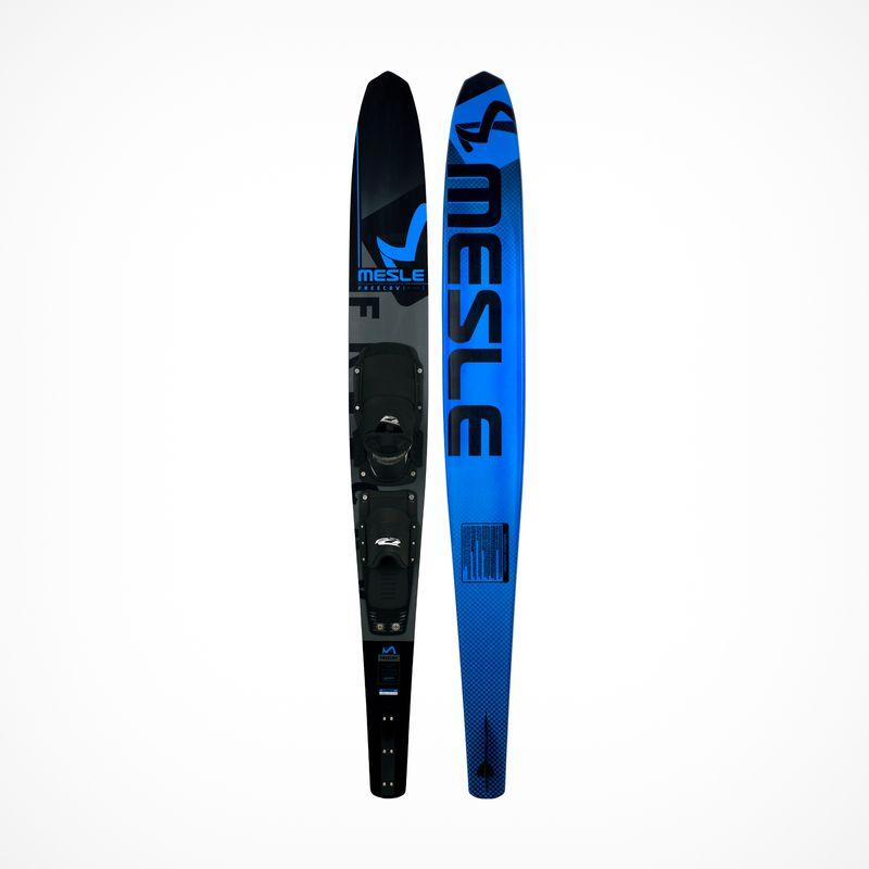 MESLE Slalom Ski Freecarve 67'' with D3 Leverage BlackOut Binding