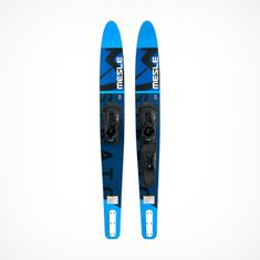 MESLE Water Ski Strato 170 cm in blue, Comboski with b6 Binding for Adults, Youths, Beginners and advanced Skiers
