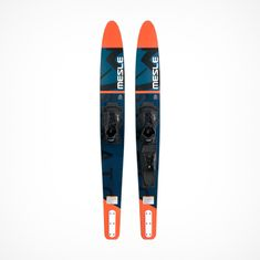 MESLE Water Ski Strato 170 cm in red, Comboski with b6 Binding for Adults, Youths, Beginners and advanced Skiers