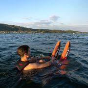 mesle water ski xplore 157 cm red comboski b2 bindings adults youths beginner intermediate skiers