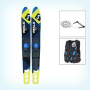 MESLE Comboski Package XPlore 157 cm, Weste V210 blu & Leine Combo