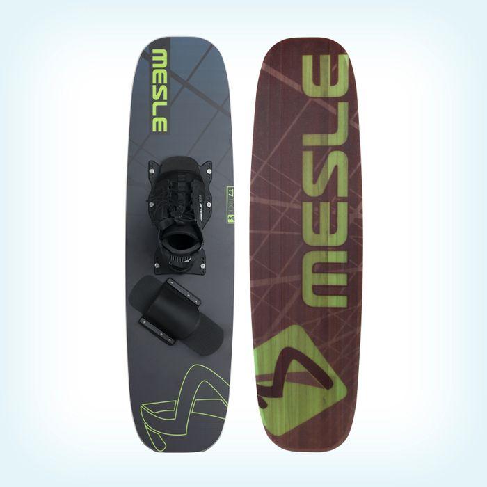 MESLE Shortboard Trickski T7 Mono + B6 Binding