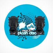MESLE Teller Splash Disc 74 blue, mit B6 Bindung