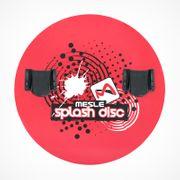 Mesle Teller Splash Disc blau mit B22R Monolasche, Produktbild