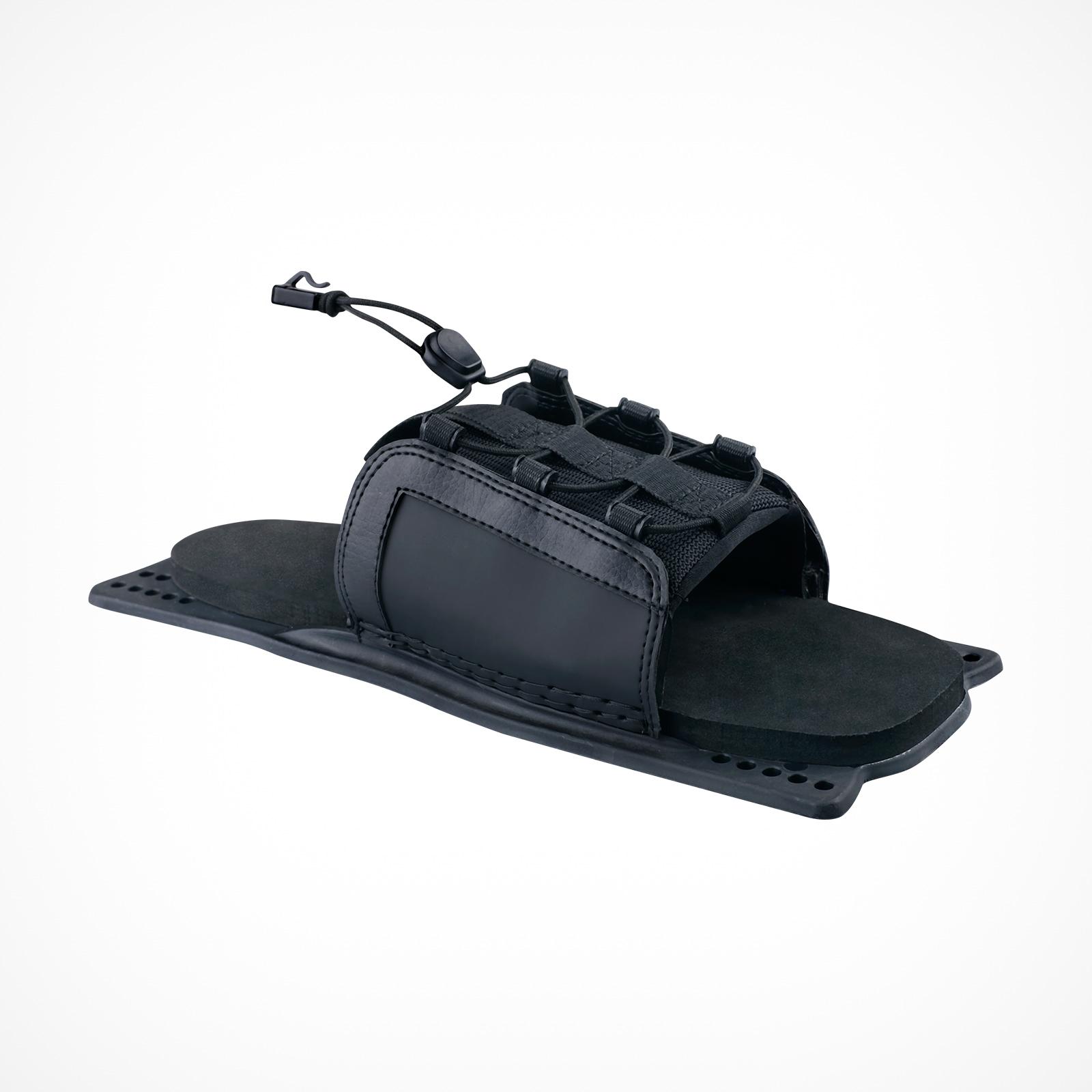 MESLE Water Ski Binding B6 Slalom Rear Toe Plate for Mono ski, black