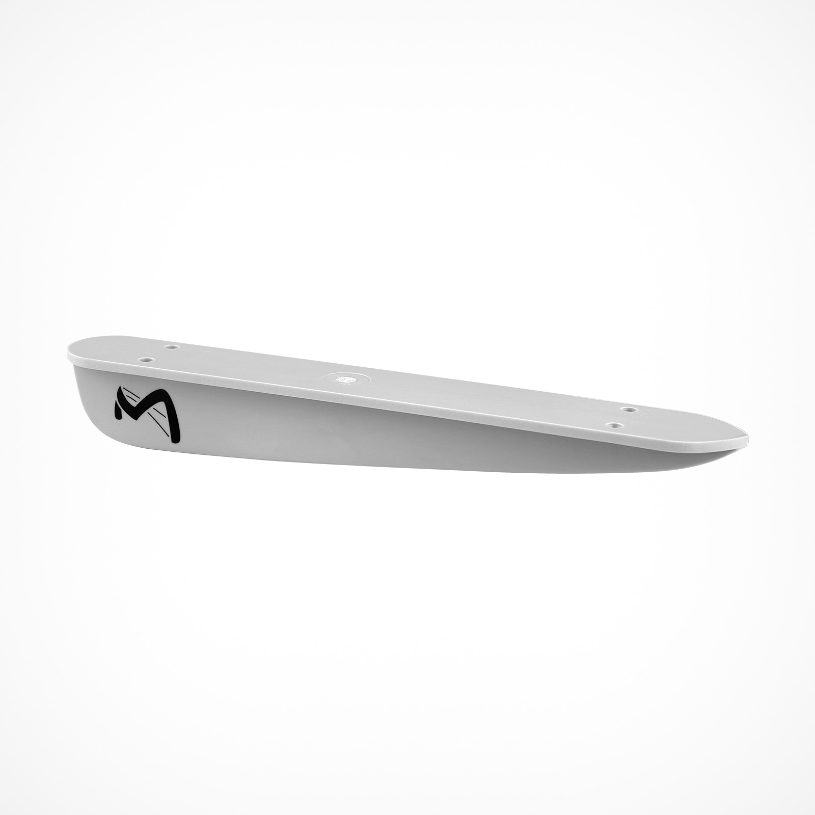 MESLE waterski-fin ABS complete, grey