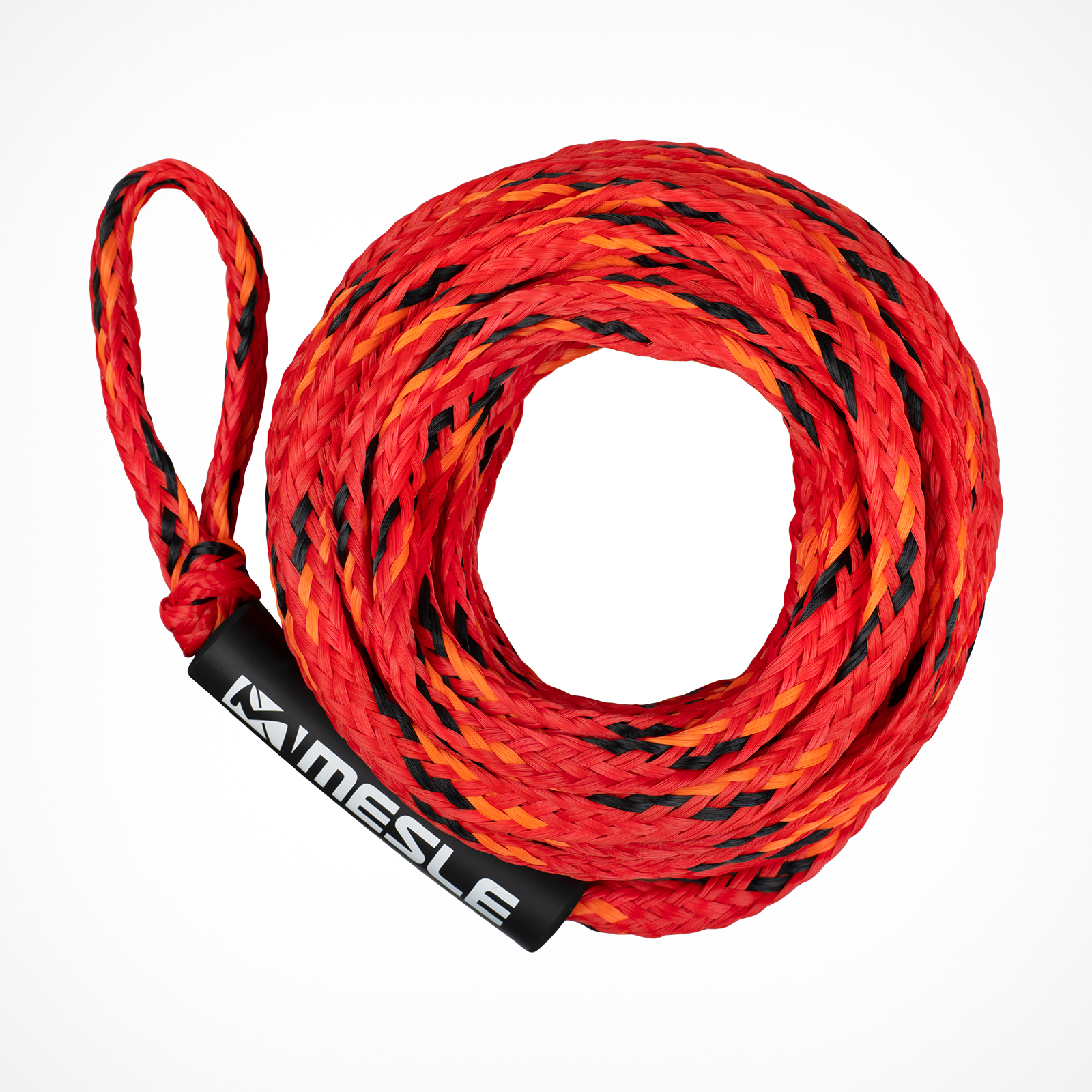 MESLE Tow Rope for 3 Persons towable Tubes in red-orange