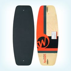 WAKETEC Wakeskate Woody 43'' red