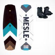 MESLE Wakeboard Package Pilot 142cm with Bindings Core