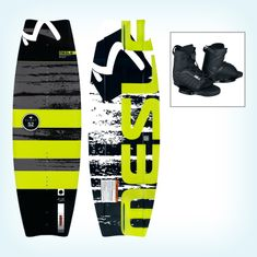 MESLE Wakeboard Flight 52 134 cm, with Core 2 Boots
