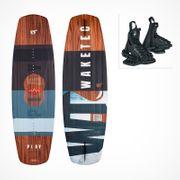 MESLE//WAKETEC Wakeboard Package Play 139cm with OnSet Bindings
