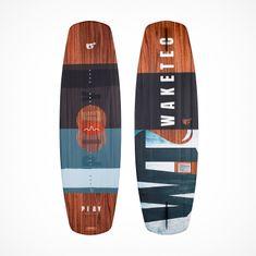MESLE//WAKETEC Wakeboard Play 139cm, blue