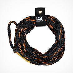 MESLE Tube Tow Rope for 3 Person Tubes in black-orange