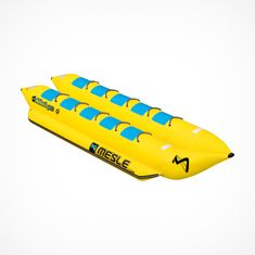 MESLE Skibob Pro HD 2x5 10 Person, Heavy Duty Banana boat for commercial use, double bananaboat