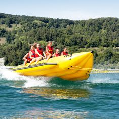 MESLE Skibob Pro HD 2x10 20 Person, Heavy Duty Banana boat for commercial use, double bananaboat