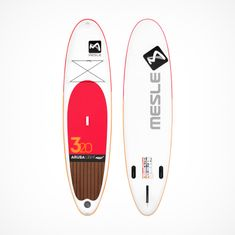 MESLE Aruba 5.0 Stand Up Paddle Board, inflatable, extra light, red