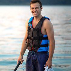 MESLE Buoyancy Aid H210, 2XS-4XL, 50-N Impact-Vest for Adults and Children, Waterski, Wakeboard and Paddle Vest