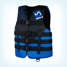 MESLE Buoyancy Aid Ride 4-Belt blu, black-blue