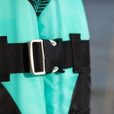 MESLE Life Jacket V210-W in Aqua, lightweight Buoyancy Aid for Women & Girls, XS-XL from 30 kg, 50-N Buoyancy Jacket for SUP Water Skiing Paddling Wakeboarding Kayaking Snorkelling