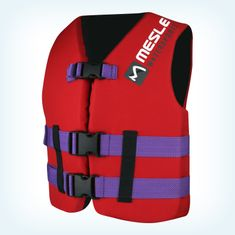 MESLE Buoyancy Aid Rental Junior L red