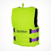 MESLE Buoyancy Aid Rental H600 in green, Size XXS, Belt Colour purple