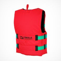 MESLE Buoyancy Aid Rental H600 in red, Size XS, Belt Colour green
