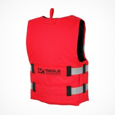 MESLE Buoyancy Aid Rental H600 in red, Size XL, Belt Colour silver