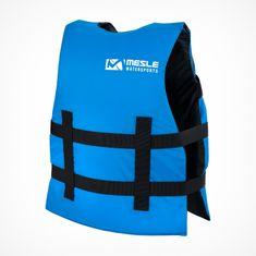 MESLE Buoyancy Aid for Children Sportsman Junior in blue, Size 30-40 kg, 50-N for SUP Waterskiing Boating Paddling Wakeboarding Snorkelling