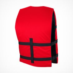 MESLE One-Size Buoyancy Aid Promo in red, 50-N for SUP Water Skiing Paddling Wakeboarding Snorkelling Kayaking, Buoyancy Aid for Adults & Youths
