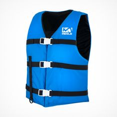 MESLE One-Size Buoyancy Aid Promo in blue, 50-N for SUP Water Skiing Paddling Wakeboarding Snorkelling Kayaking, Buoyancy Aid for Adults & Youths