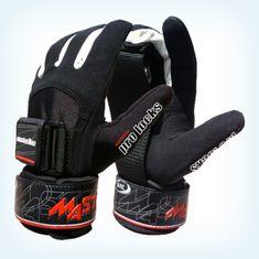 ML Handschuhe Pro Lock Curves, schwarz-rot